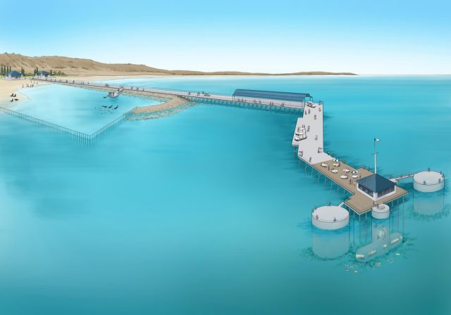 Jetty Redevelopment concept sketch