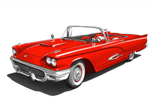 FEATURED - Red Convertible