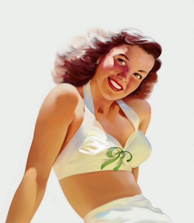1940's Pinup Girl