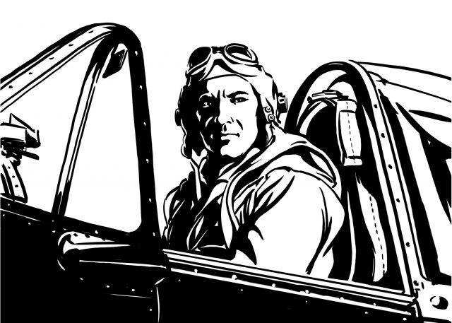Fighter Pilot WWII