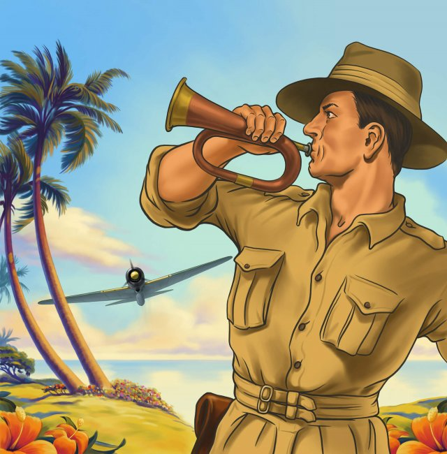 Northern Territory Military Tourism poster