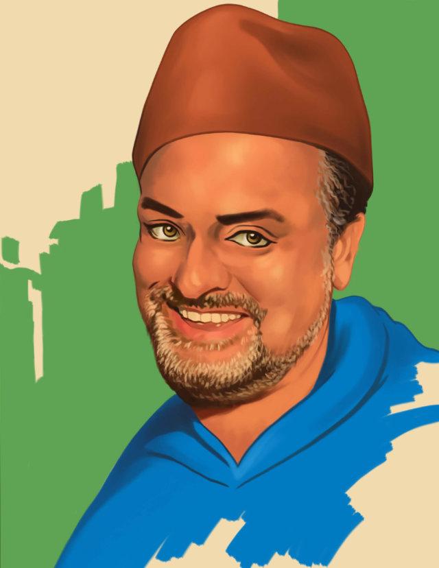 Lebanese man wearing a Fez